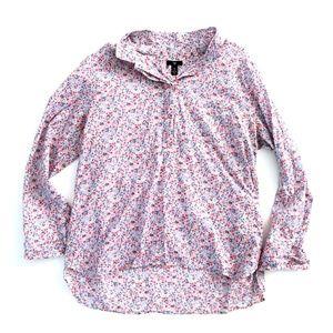 Gap Spring Summer Floral Lightweight Shirt XL